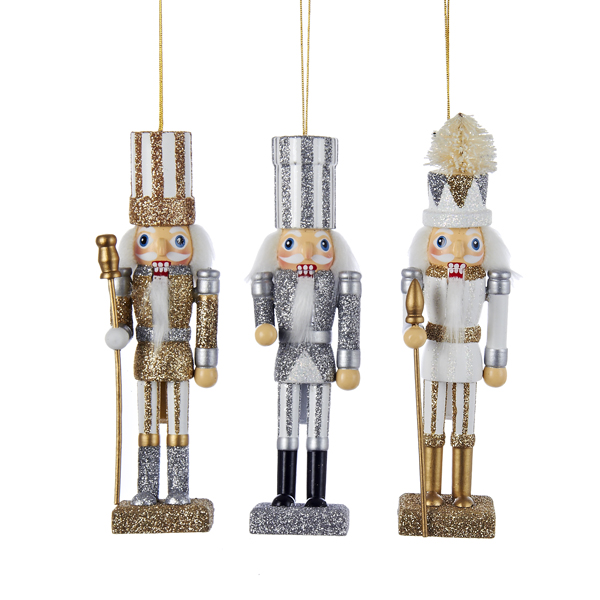 6swhite Silvers: Hollywood Nutcracker Ornaments
